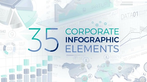 Infographics templates after effects