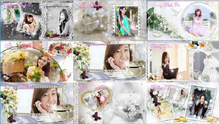 Свадебный футаж для прошоу скачать фото 161-353